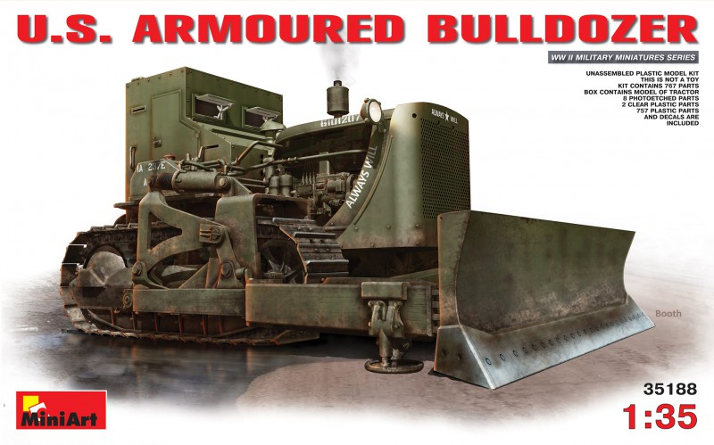 U.S. ARMOURED BULLDOZER - MiniArt 35188