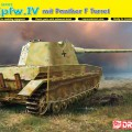 Pz.Kpfw.IV mit Panther F Torretta - DML 6824