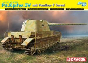 Pz 니다.Kpfw 을니다.IV mit Panther F Turret-DML6824