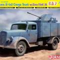 Duitse 3t 4x2 Vrachtwagen FlaK 38