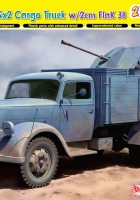Tedesco 3t 4x2 Camion FlaK 38