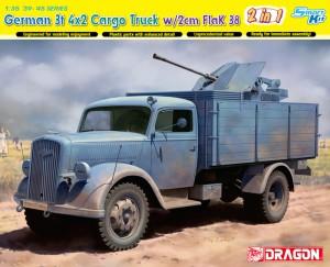 German 3t 4x2 Камион FlaK 38