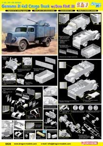 Saksa 3t 4x2 Auto FlaK 38