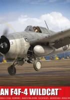Grumman F4F-4野猫队抵Airfix A55214