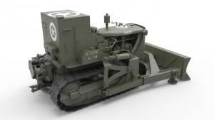 米装甲ブルドーザー-MiniArt35188