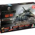 Pasaulio Tankai - M4 SHERMAN - ITALERI 36503