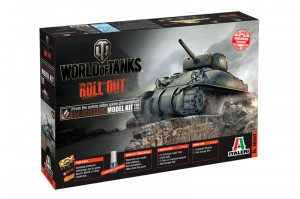 A World of Tanks - M4 SHERMAN - ITALERI 36503