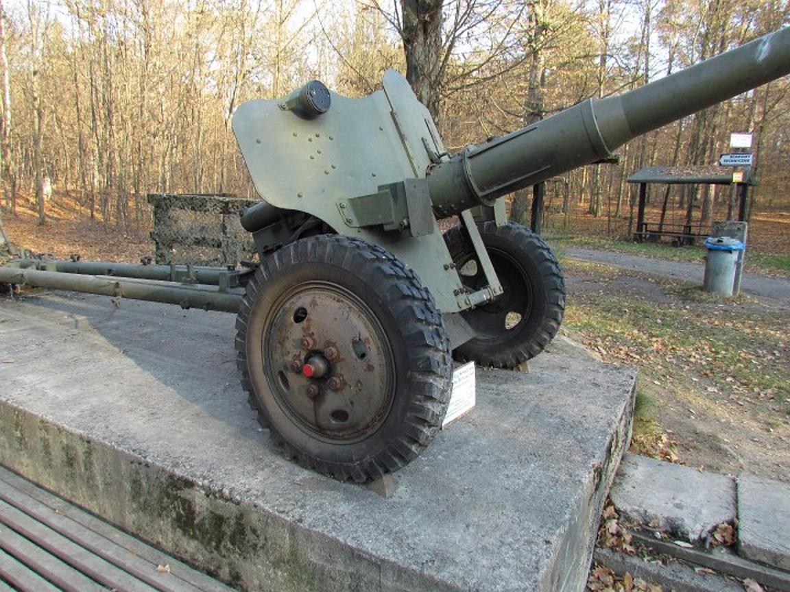 85 mm divisie pistool D-44