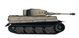 A World of Tanks - PZ.KPFW.VI TIGRIS - ITALERI 36502