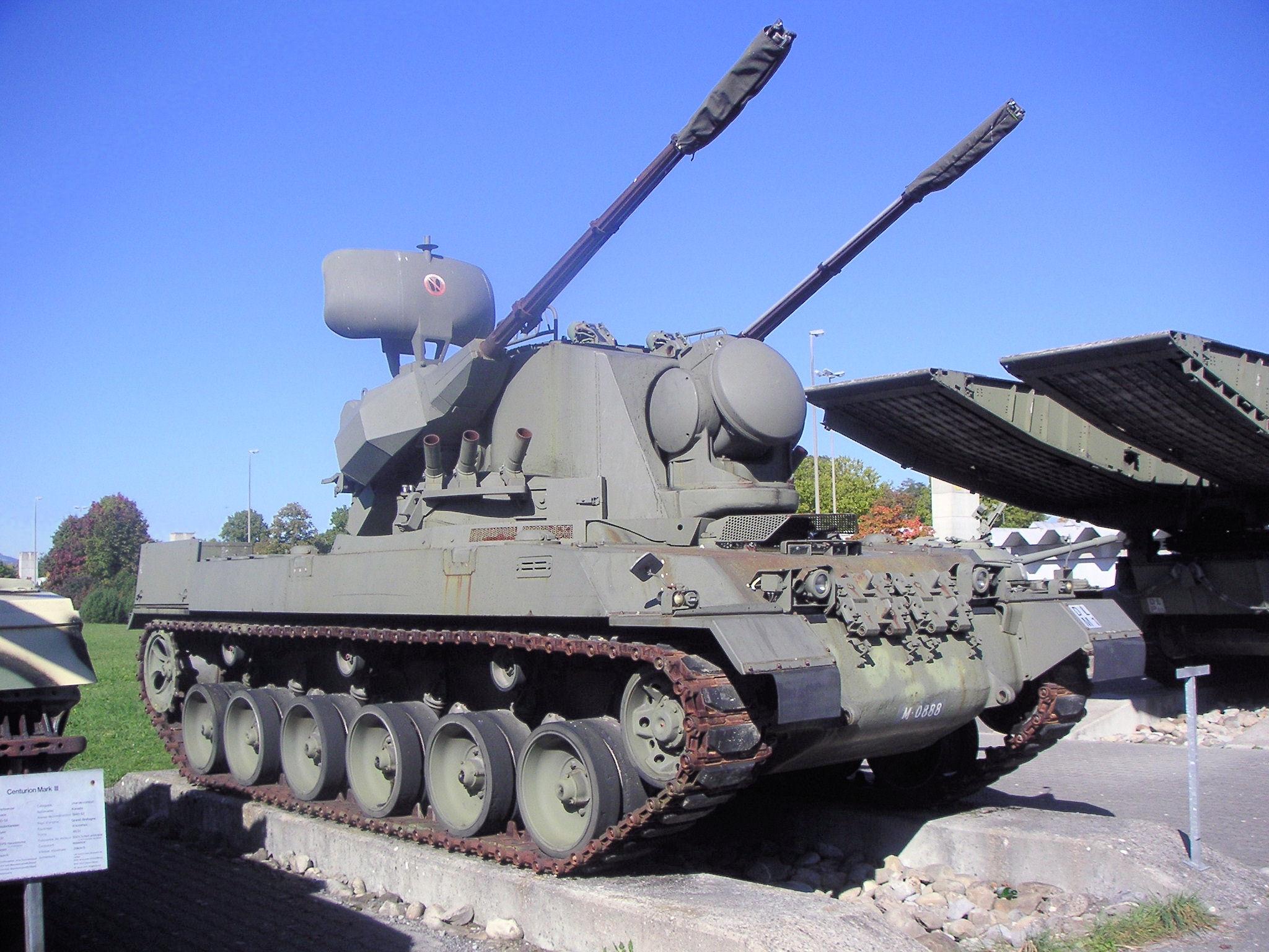 Зенитная Установка Pz68