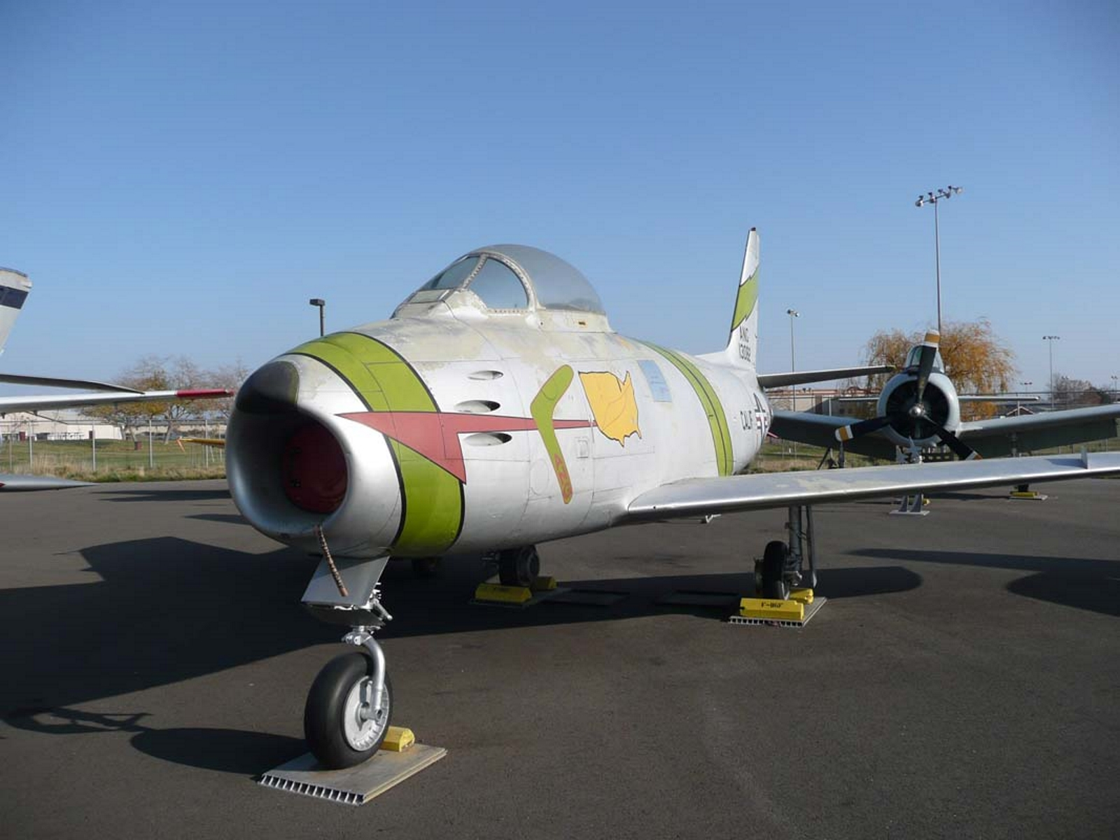 Il North American F-86F-20NH Sabre