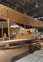 Royal Aircraft Factory BE2A - Spaziergang Rund um