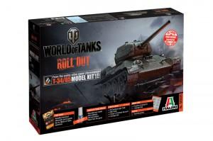 世界の戦車T-34/85を