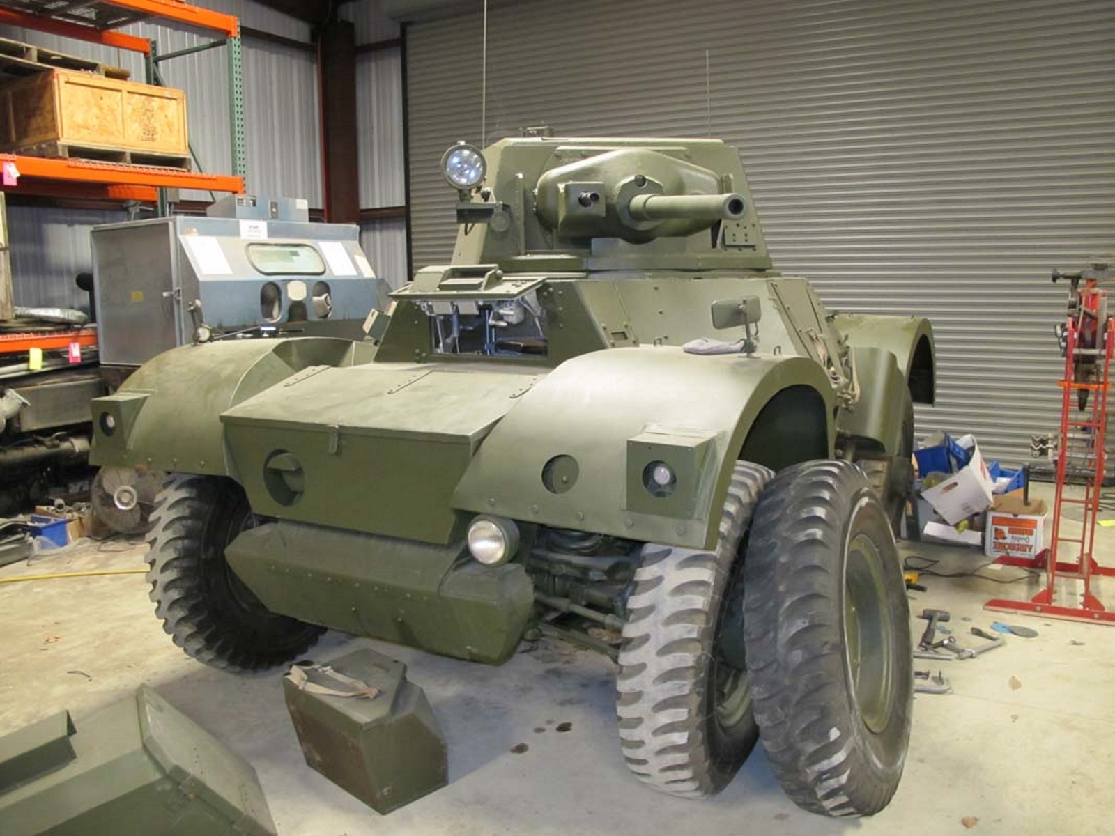 Daimler Armoured Car Mk II