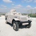 M3 Scout Converted into an Armored Car
