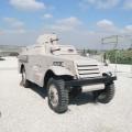 M3 Scout Trasformato in un veicolo Corazzato