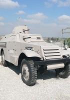 M3 Scout zamienia się w samochód pancerny - mobilną