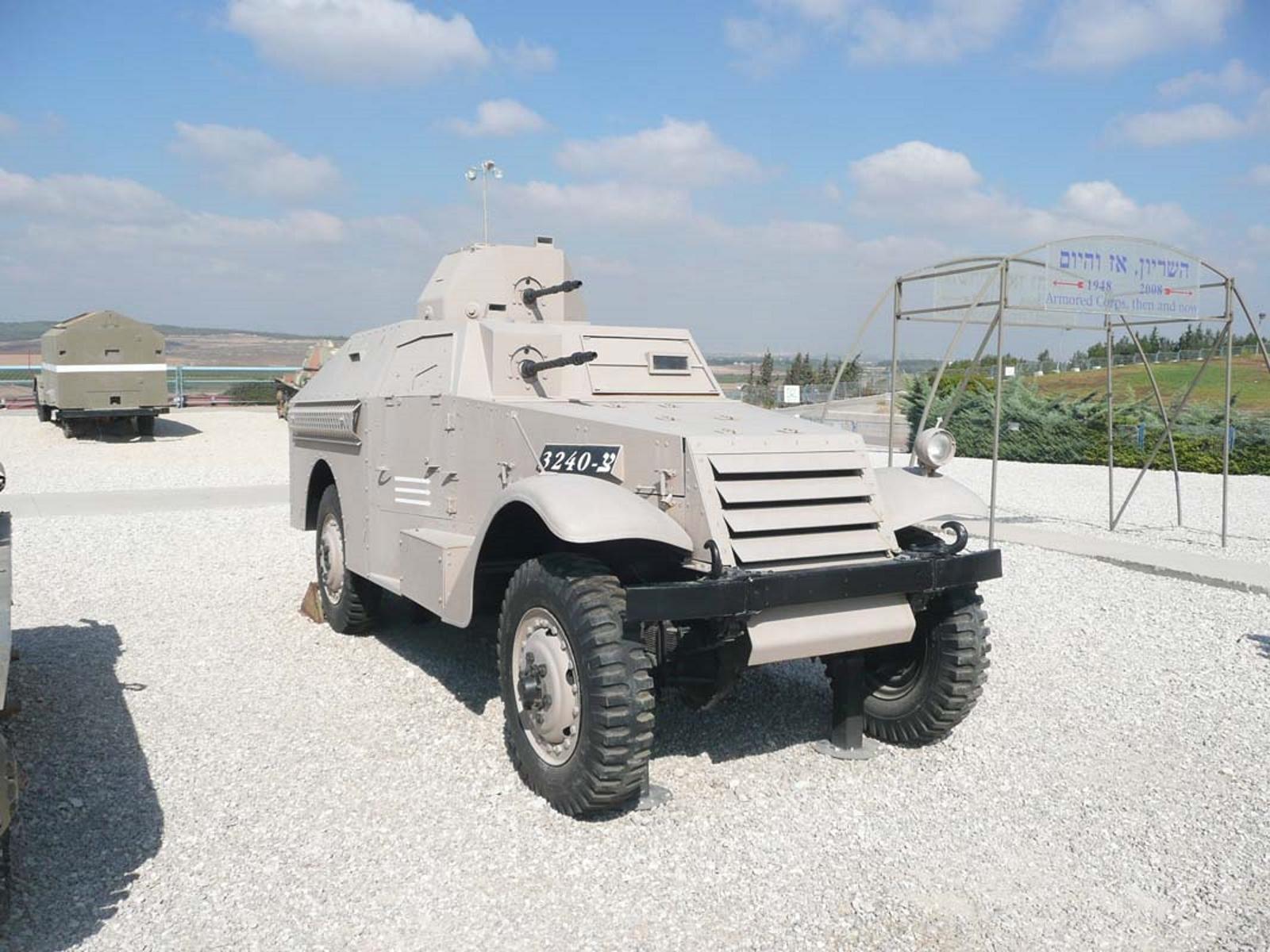 M3 Scout Ümber Soomustatud Auto