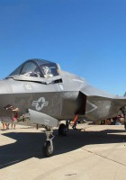 A Lockheed F-35 Lightning II.