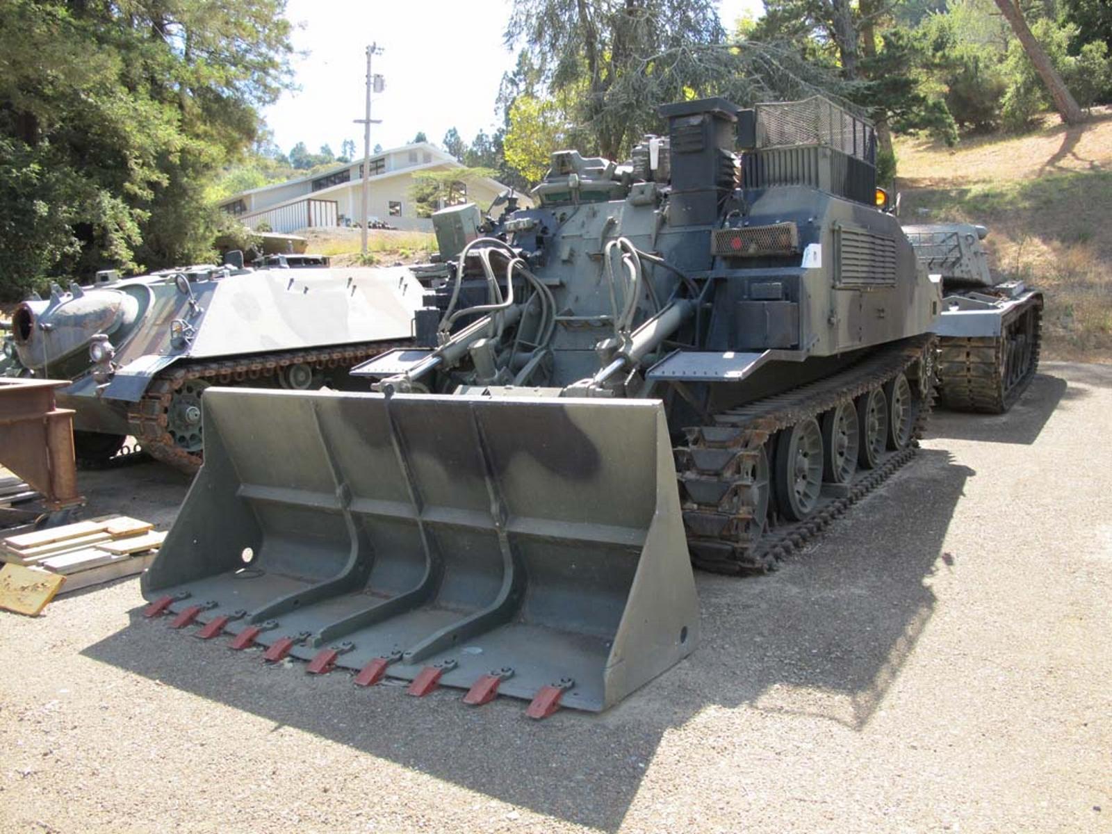 FV180 de ingenieros de Combate del Tractor