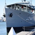 Le HMAS Castlemaine (J244)