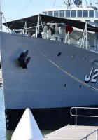 Le HMAS Castlemaine (J244) - WalkAround