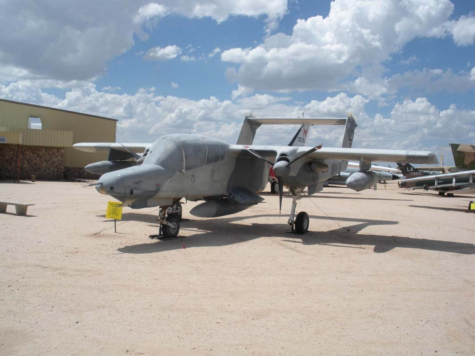 Šiaurės Amerikos Rockwell OV-10 Bronco
