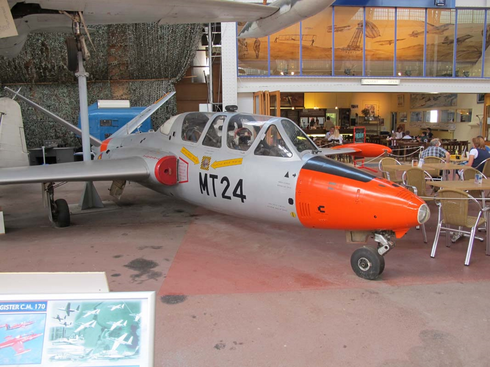 Fouga Magister C. M. 170