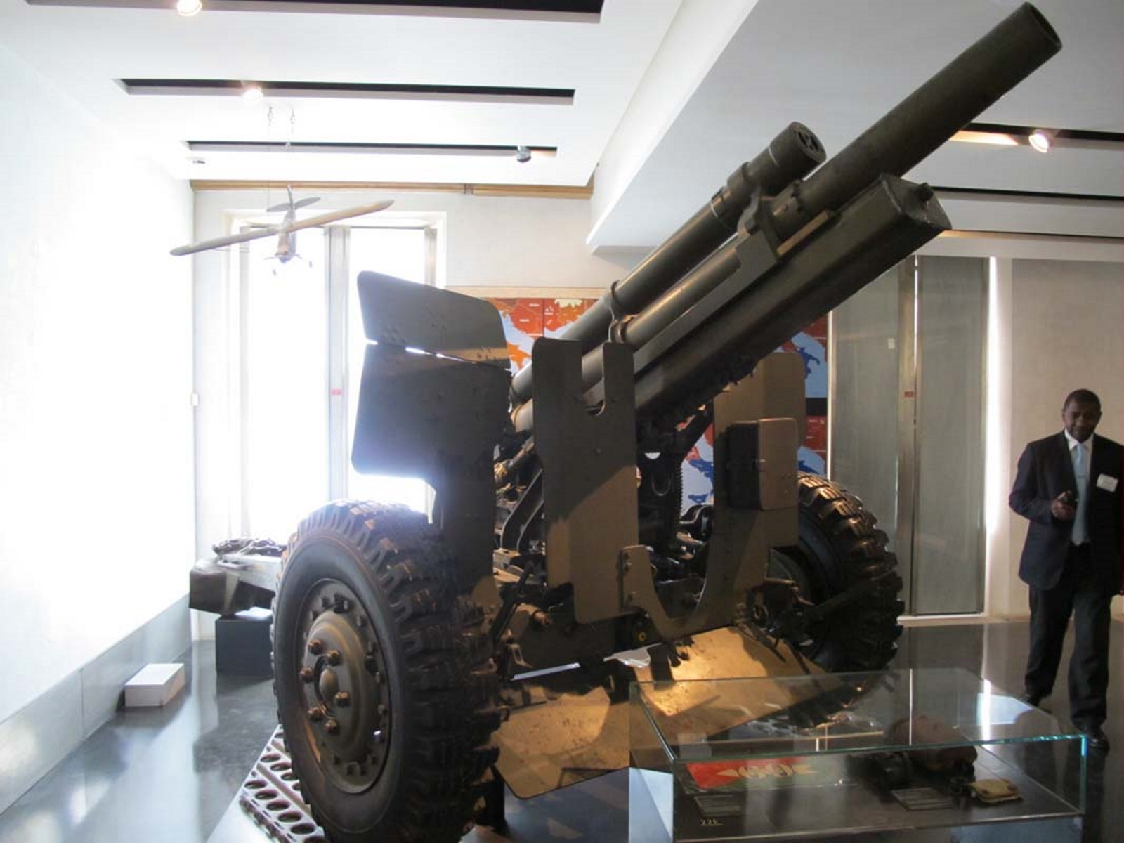 САЩ M2A2 105мм оръдие