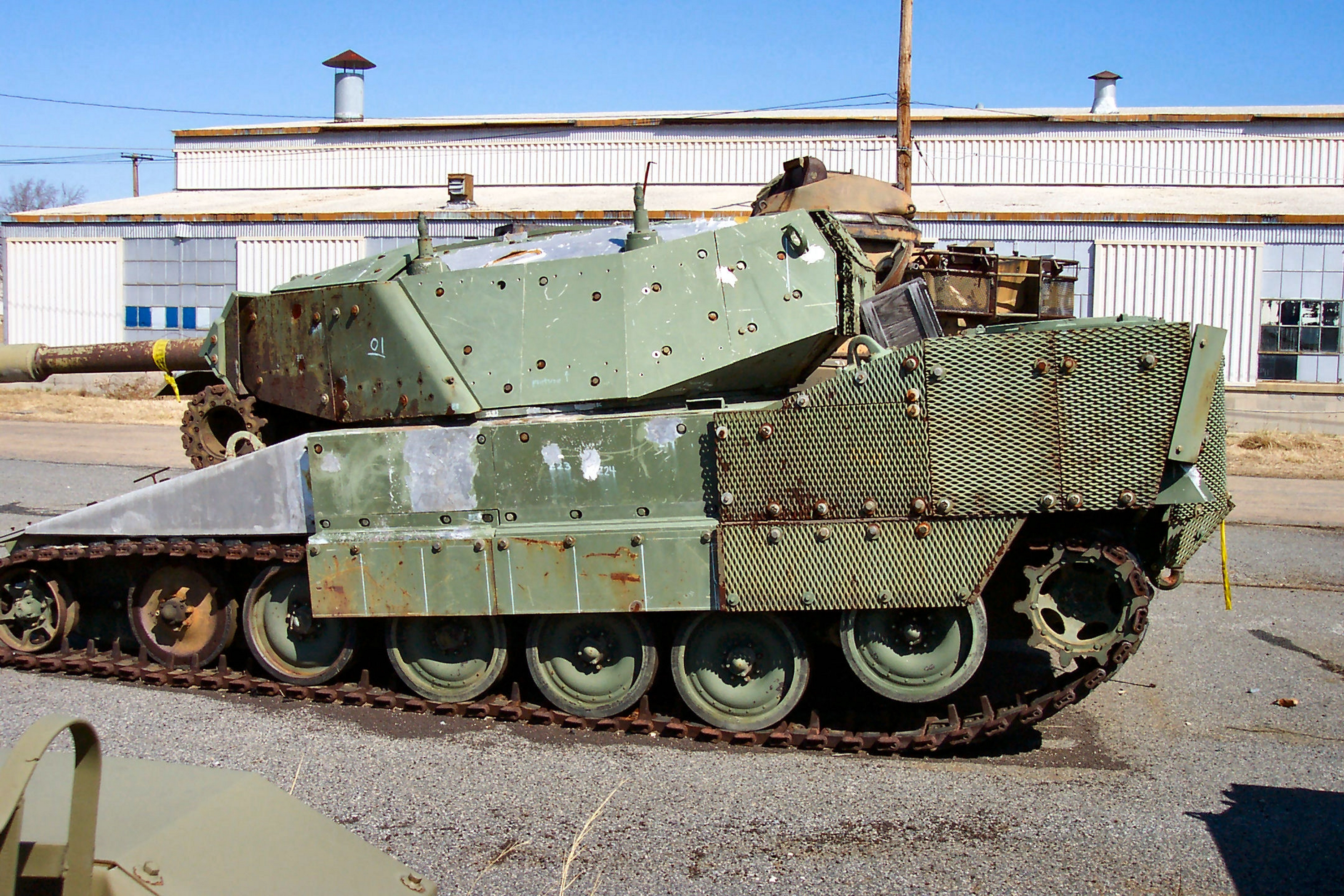 From the 1970s to the 1990s the standard light tank of the US Army was the M551 Sheridan and the military was actively looking to replace it with another maneuverable tracked vehicle with