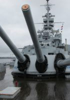 USS Massachusetts BB-59 - WalkAround