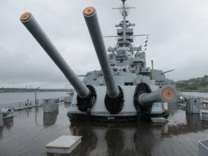 USS Massachusetts BB-59 - Omrknout
