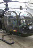 SA 니다.318C Alouette II 차량 중 하나