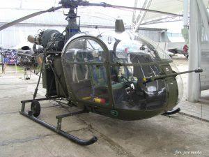 SA.318C Alouette II - išorinis sukamaisiais apžiūra