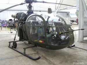 SA。318C Alouette II-现在