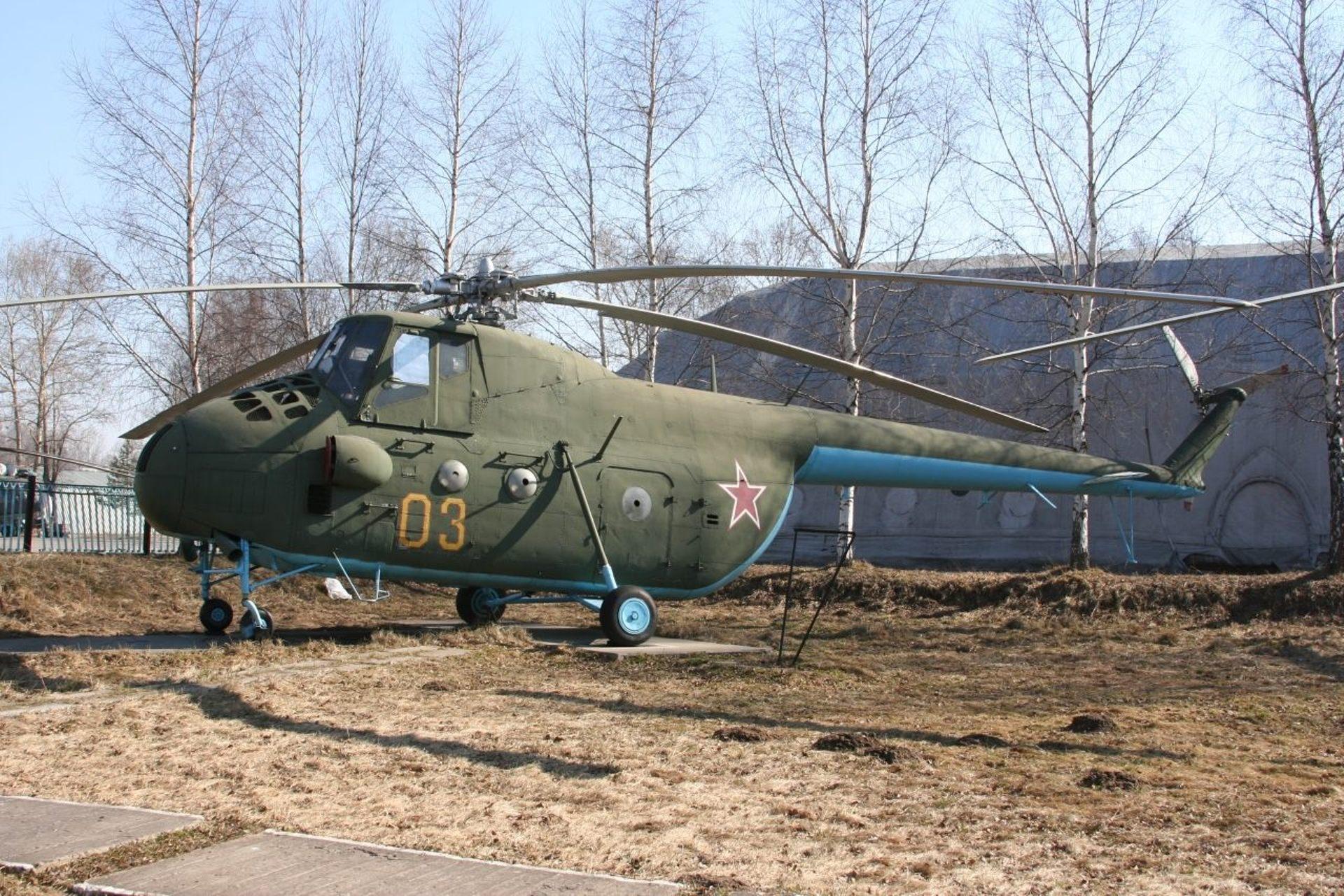 Luftwaffe Museum Gatow Mil Mi-4 - YouTube