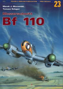 Kagero - Monografie. #23. Messerschmitt Bf 110 vol. III