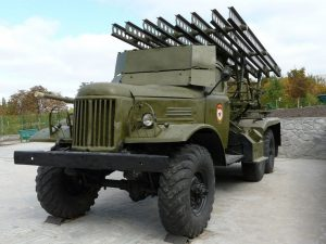 BM-13 on ZiL-157 - WalkAround