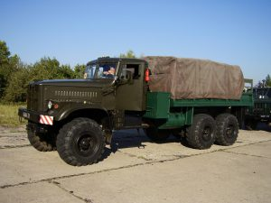 KraZ-255 - Walk Around