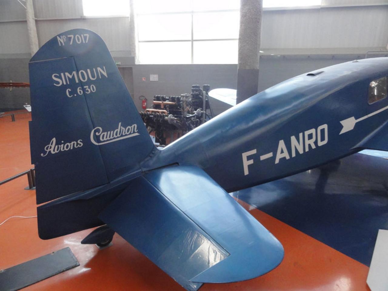 Caudron C. 630 Simoun