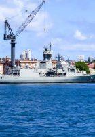 HMAS Anzac (FFH 150) - Caminhada em Torno
