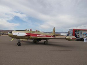 Canadair CT-133 Silver Star - Walk Around