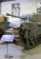 Churchill tank - spacer