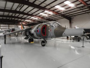 Hawker Siddeley Harrier - Sétálni