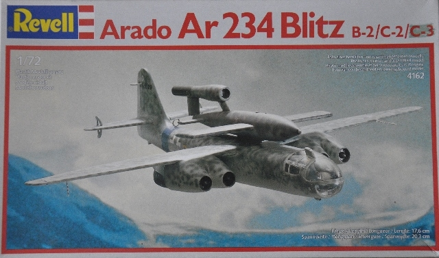 SBS Model 1//48 Arado Ar-234 wheel bays for HASEGAWA