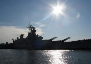 USS New Jersey (BB-62) - Rond te Lopen
