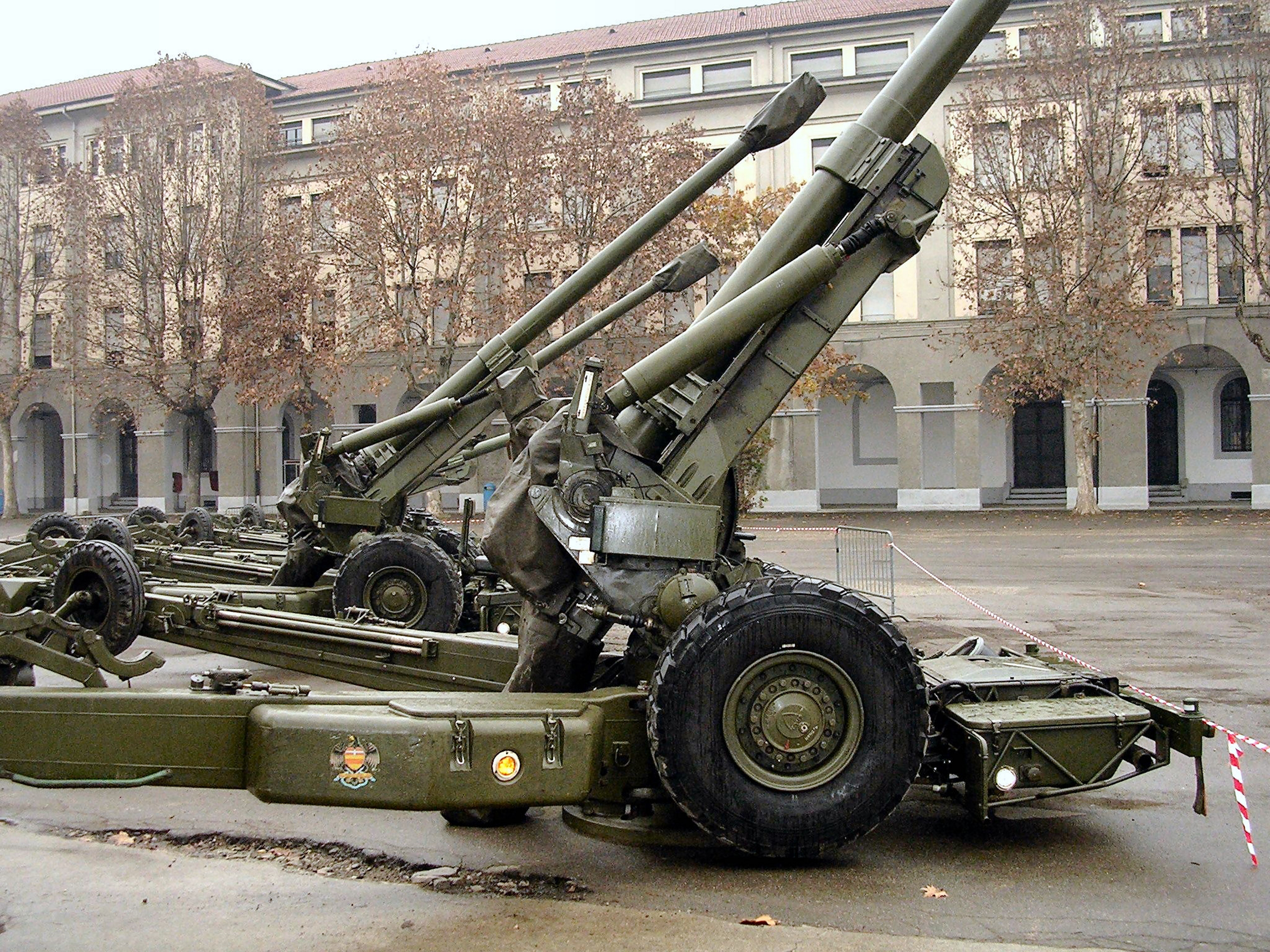 FH-70 155mm Field Howitzer