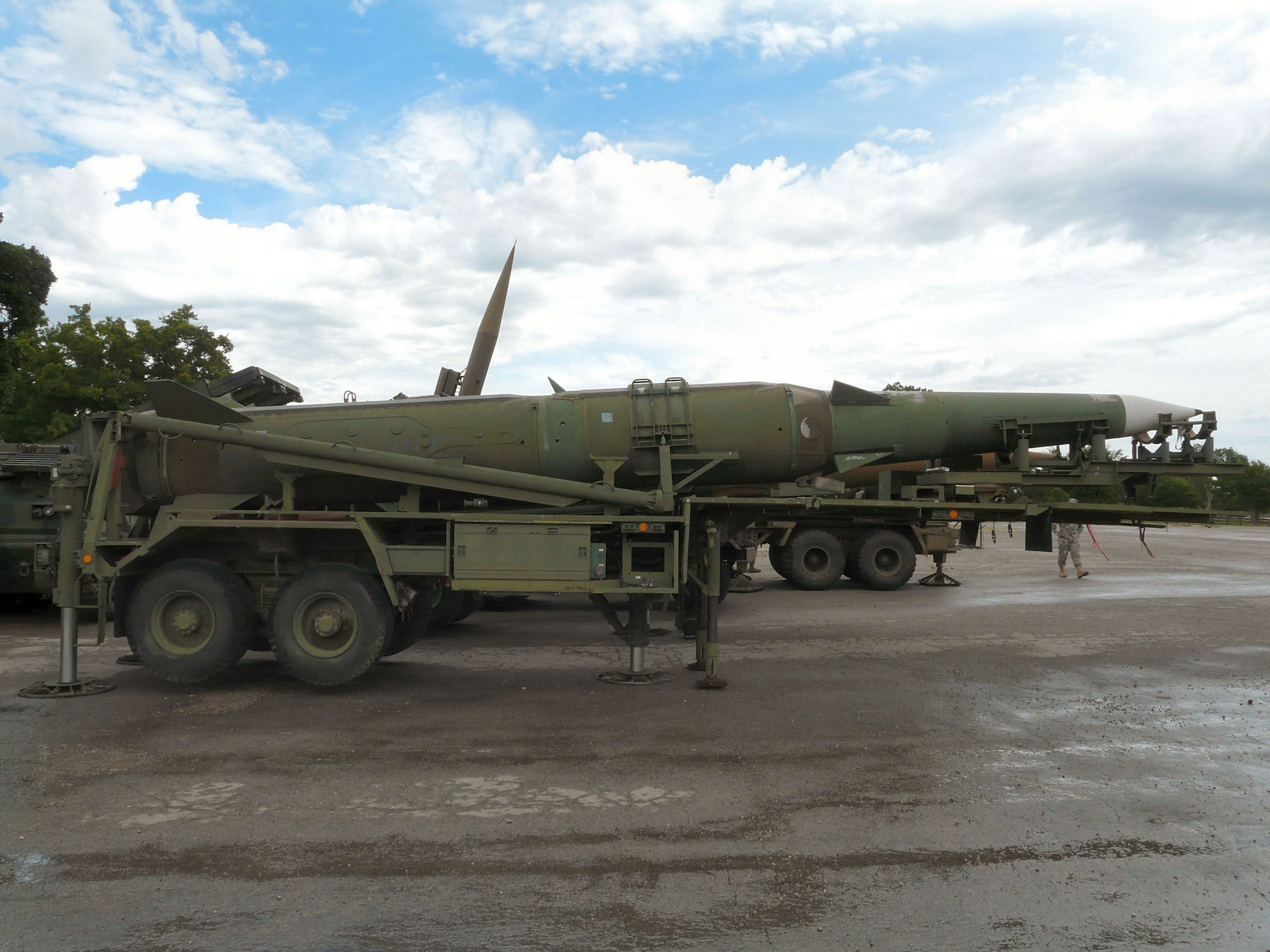 Pershing II Erector Launcher