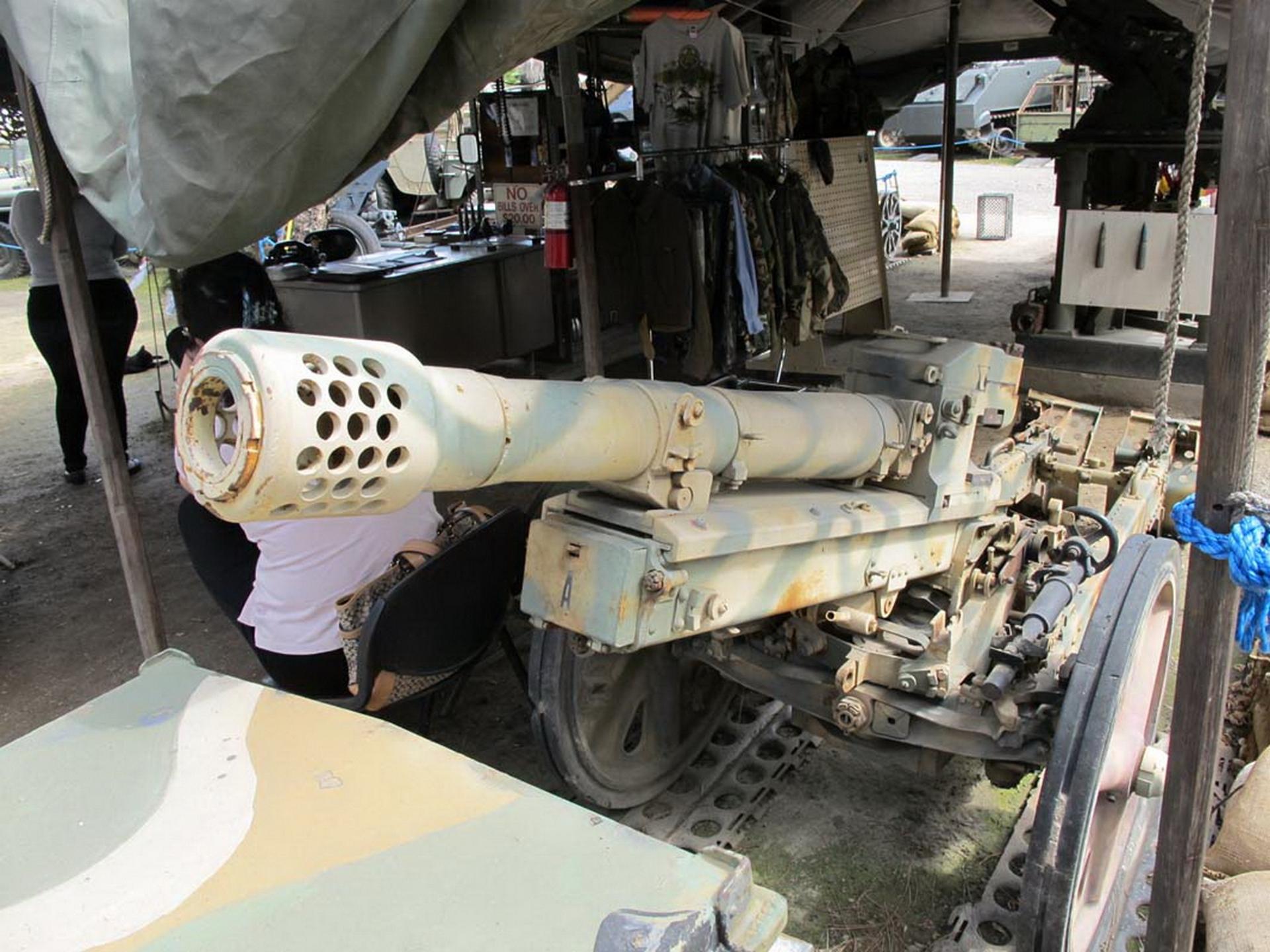 7.5 см gebirgsg защита на 36 Mountain Gun