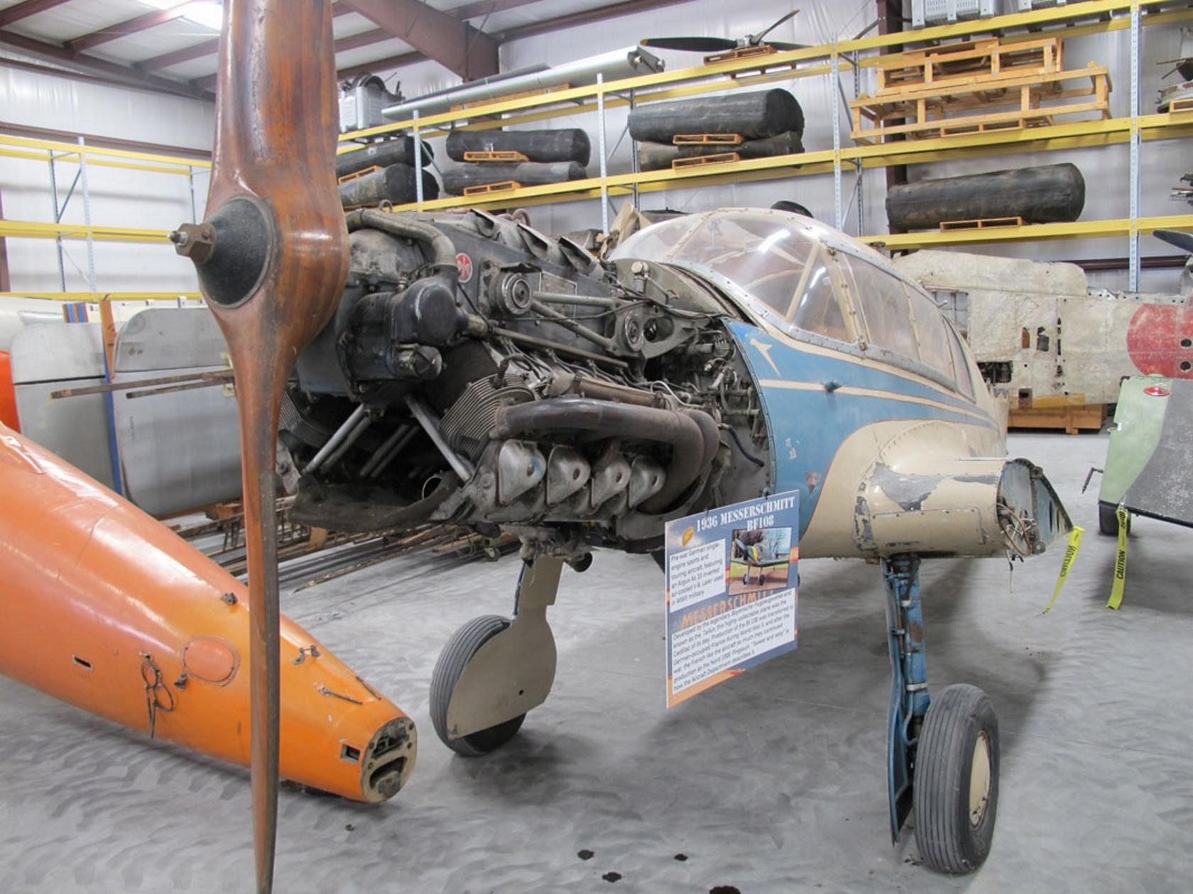 Messerschmitt Me-108 Taifun